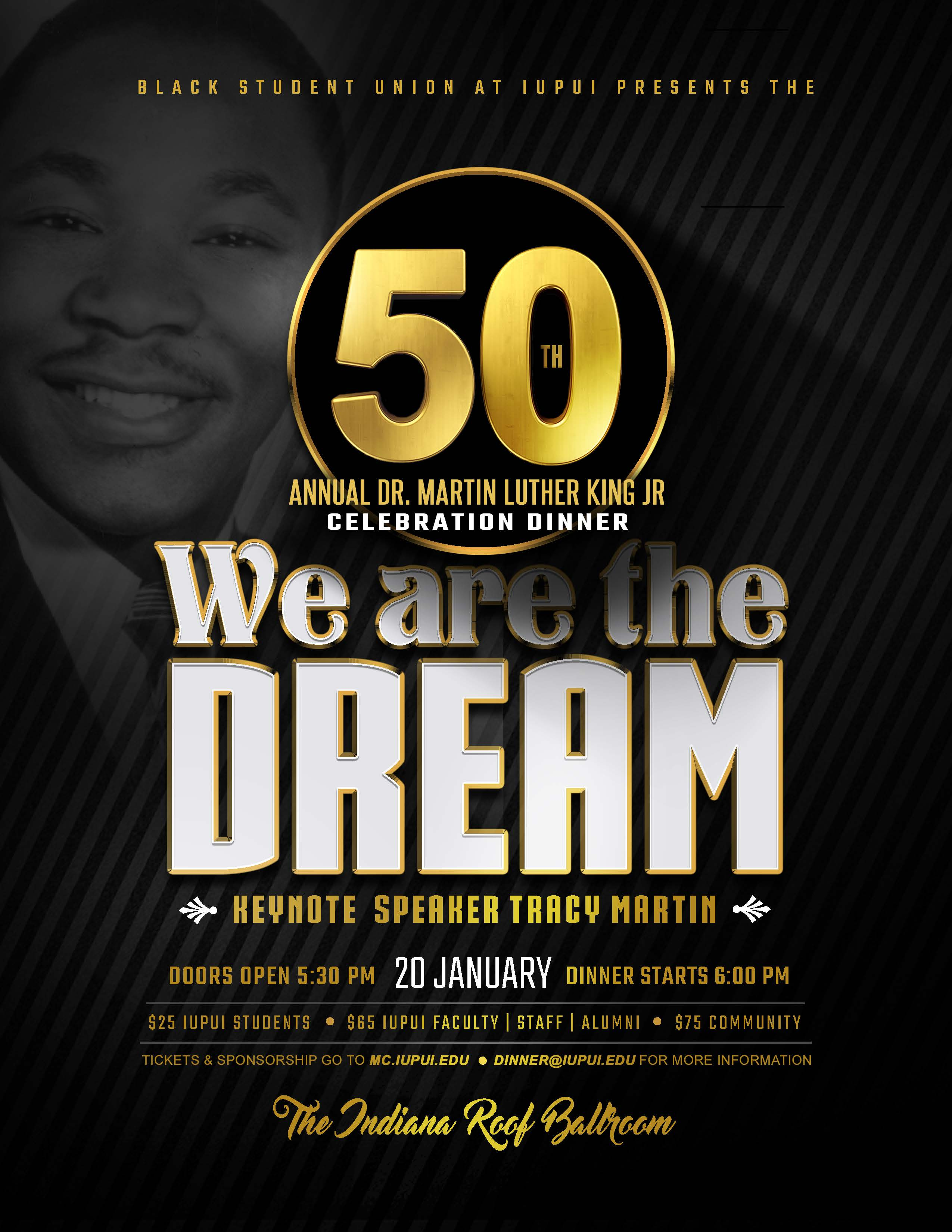 Martin Luther King Jr Celebration Dinner Cultural Dinners And